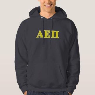 Alpha Epsilon Pi Yellow Letters Hoodie