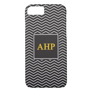 Alpha Eta Rho | Chevron Pattern iPhone 8/7 Case