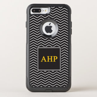 Alpha Eta Rho | Chevron Pattern OtterBox Commuter iPhone 8 Plus/7 Plus Case