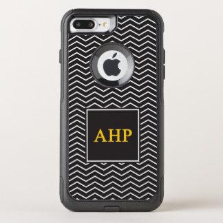 Alpha Eta Rho | Chevron Pattern OtterBox Commuter iPhone 8 Plus/7 Plus Case