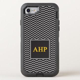Alpha Eta Rho | Chevron Pattern OtterBox Defender iPhone 8/7 Case