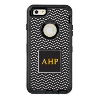 Alpha Eta Rho | Chevron Pattern OtterBox Defender iPhone Case