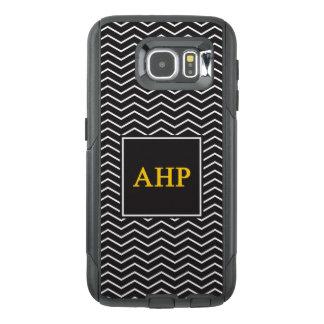 Alpha Eta Rho | Chevron Pattern OtterBox Samsung Galaxy S6 Case