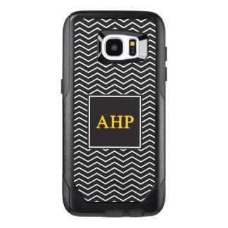 Alpha Eta Rho | Chevron Pattern OtterBox Samsung Galaxy S7 Edge Case