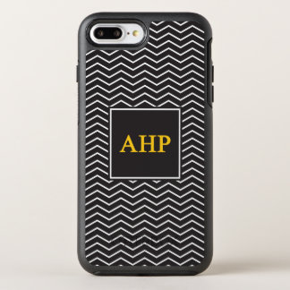 Alpha Eta Rho | Chevron Pattern OtterBox Symmetry iPhone 8 Plus/7 Plus Case