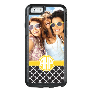 Alpha Eta Rho | Custom Monogram Pattern OtterBox iPhone 6/6s Case