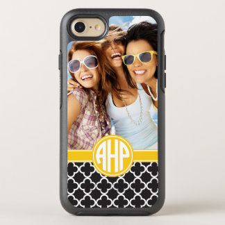 Alpha Eta Rho | Custom Monogram Pattern OtterBox Symmetry iPhone 8/7 Case