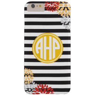 Alpha Eta Rho | Monogram Stripe Pattern Barely There iPhone 6 Plus Case