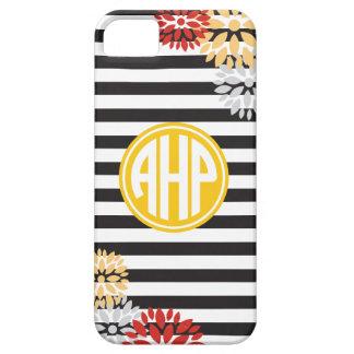 Alpha Eta Rho   Monogram Stripe Pattern Case For The iPhone 5