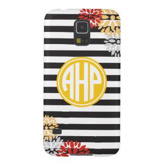 Alpha Eta Rho   Monogram Stripe Pattern Galaxy S5 Case