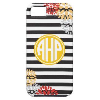 Alpha Eta Rho   Monogram Stripe Pattern iPhone 5 Cover
