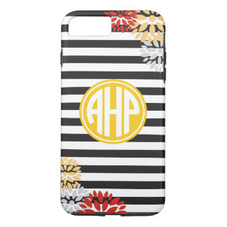 Alpha Eta Rho | Monogram Stripe Pattern iPhone 8 Plus/7 Plus Case