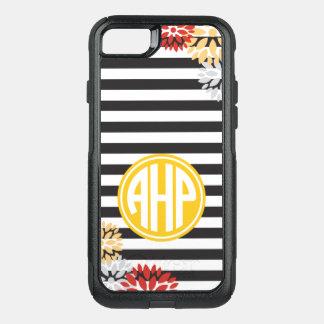 Alpha Eta Rho | Monogram Stripe Pattern OtterBox Commuter iPhone 8/7 Case