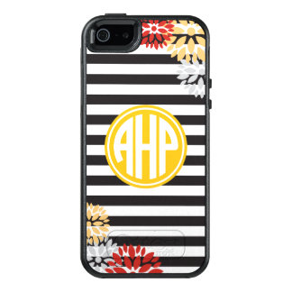 Alpha Eta Rho | Monogram Stripe Pattern OtterBox iPhone 5/5s/SE Case