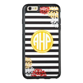 Alpha Eta Rho | Monogram Stripe Pattern OtterBox iPhone 6/6s Plus Case