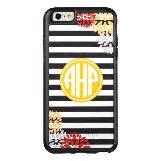 Alpha Eta Rho | Monogram Stripe Pattern OtterBox iPhone 6/6s Plus Case