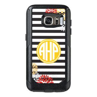 Alpha Eta Rho | Monogram Stripe Pattern OtterBox Samsung Galaxy S7 Case