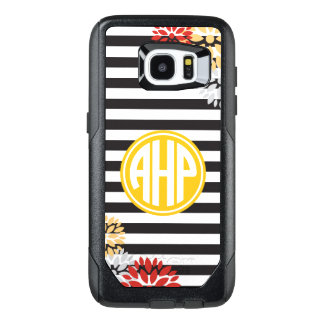 Alpha Eta Rho | Monogram Stripe Pattern OtterBox Samsung Galaxy S7 Edge Case