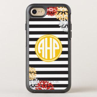 Alpha Eta Rho | Monogram Stripe Pattern OtterBox Symmetry iPhone 8/7 Case