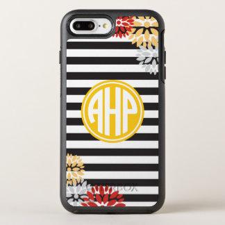 Alpha Eta Rho | Monogram Stripe Pattern OtterBox Symmetry iPhone 8 Plus/7 Plus Case