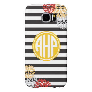 Alpha Eta Rho | Monogram Stripe Pattern Samsung Galaxy S6 Cases