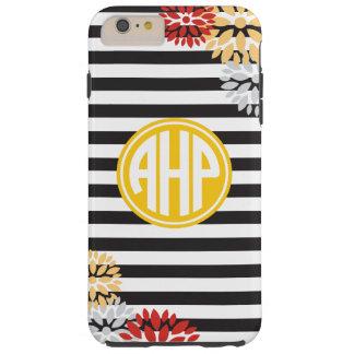 Alpha Eta Rho | Monogram Stripe Pattern Tough iPhone 6 Plus Case