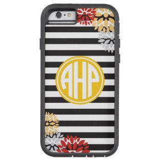 Alpha Eta Rho | Monogram Stripe Pattern Tough Xtreme iPhone 6 Case