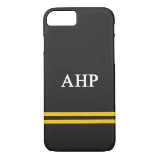 Alpha Eta Rho | Sport Stripe iPhone 8/7 Case