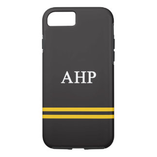 Alpha Eta Rho | Sport Stripe iPhone 8/7 Case