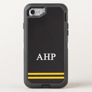 Alpha Eta Rho | Sport Stripe OtterBox Defender iPhone 8/7 Case