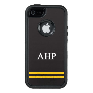 Alpha Eta Rho | Sport Stripe OtterBox Defender iPhone Case