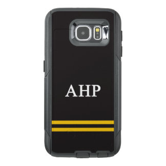 Alpha Eta Rho | Sport Stripe OtterBox Samsung Galaxy S6 Case