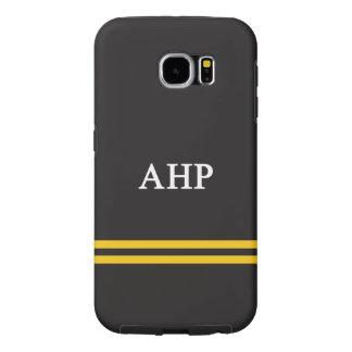 Alpha Eta Rho | Sport Stripe Samsung Galaxy S6 Cases