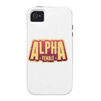 Alpha Female1 Case-Mate iPhone 4 Cases