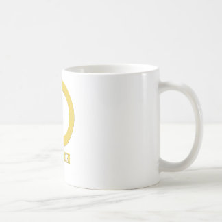 Alpha Female Gold Classic White Coffee Mug