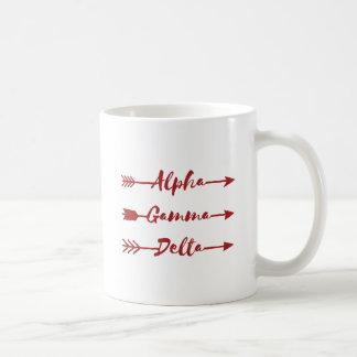 Alpha Gamma Delta Arrow Coffee Mug