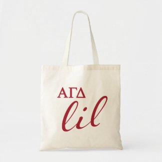 Alpha Gamma Delta Big Script Tote Bag