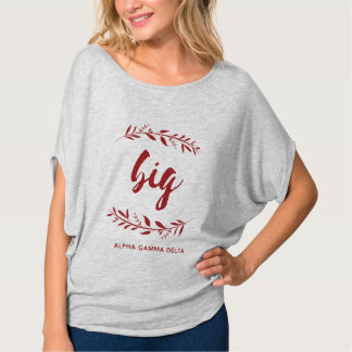 Alpha Gamma Delta Big Wreath T-Shirt