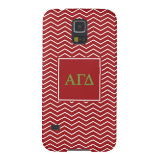 Alpha Gamma Delta | Chevron Pattern Galaxy S5 Covers