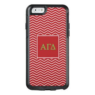Alpha Gamma Delta | Chevron Pattern OtterBox iPhone 6/6s Case