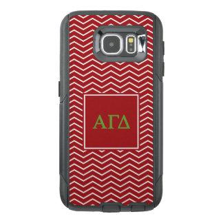 Alpha Gamma Delta | Chevron Pattern OtterBox Samsung Galaxy S6 Case