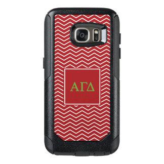 Alpha Gamma Delta | Chevron Pattern OtterBox Samsung Galaxy S7 Case
