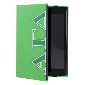 Alpha Gamma Delta Green Letters Cover For iPad Mini