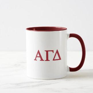 Alpha Gamma Delta Lil Script Mug