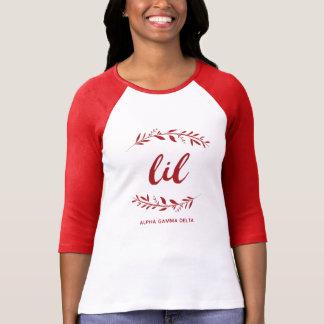 Alpha Gamma Delta Lil Wreath T-Shirt