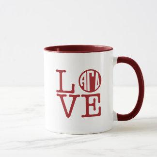 Alpha Gamma Delta Love Mug