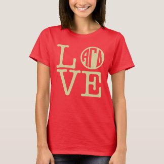 Alpha Gamma Delta Love T-Shirt