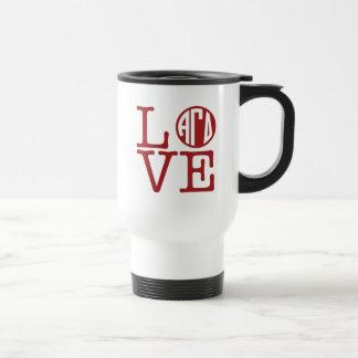 Alpha Gamma Delta Love Travel Mug