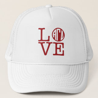 Alpha Gamma Delta Love Trucker Hat