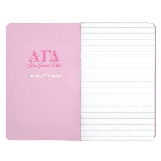Alpha Gamma Delta Pink Letters Journal